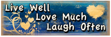 Live Love Laugh Wood Sign sku WS303