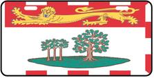 Prince Edward Island Prov Flag Plate