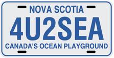 Nova Scotia Prov Plate