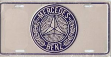 Mercedes Auto Plate