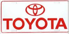 Toyota Auto Plate