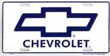 Chevrolet Auto Plate