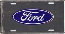 Ford Mirror Auto Plate
