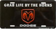 Grab Life Dodge Auto Plate