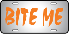 Bite Me Auto Plate
