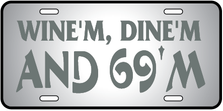 Wine Dine 69 Auto Plate