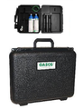 GASCO Carbon Dioxide Calibration Gas Kit 10 PPM Balance Air 17 Liter Cylinders CGA 600 Connections