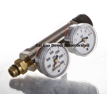 GASCO (72-PSI/C-10) Miniature Two Stage Regulator C-10 Connection Type 0-10 PSI