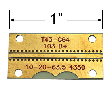 GCPWG RO4350 Test Board