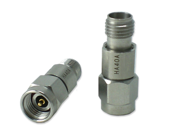 HA40A-30 Main view for 30 dB - Fixed Attenuator 2.92 mm Male To 2.92 mm Female Up To 40 GHz Rated To .5 Watts With Passivated Stainless Steel Body