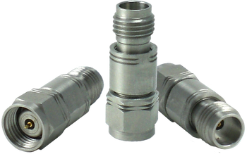 HA65A-30 Main view for 30 dB - Fixed Attenuator 1.85 mm Male To 1.85 mm Female Up To 65 GHz Rated To 1 Watt With Passivated Stainless Steel Body