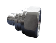 716P-NJ-SLP - Low PIM Adapter - 7/16 Male to Type N Female