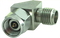 29J-29P-RA-01 2.92 mm Female to 2.92 mm Male Right Angle Adapter - 40 GHz - HASCO Components