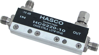 HC0220-10 main view for Directional Couplers | SMA  | HASCO Components
