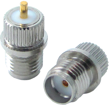 HA-SMA-JP-001A Main view for SMA Female Press Mount Connector | HASCO Components