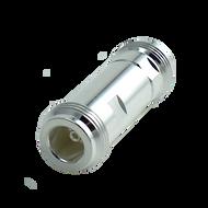 NJ-NJ-SLP Main view for HASCO N Female to N Type Female Low PIM Adapter - 160 dBc