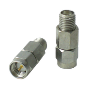 HA6A-04 Main view for 4 dB - Fixed Attenuator SMA Male To SMA Female Up To 6 GHz Rated To 2 Watts With Passivated Stainless Steel Body