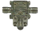 HSC1218 Main view for SMA Circulator, Frequency from  12 GHz to 18 GHz, HASCO Components