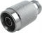 NP-NJ-PO-MF Main view for HASCO N Male to N Type Female Push-On Adapter - 14 GHz