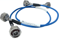 HLP141SF-MDP-MDP-30 Main view for Low PIM SRX 141 Flexible Cable -165 dBc, 4.1/9.5 Mini DIN Male to 4.1/9.5 Mini DIN Male, 30 Inches - HASCO Components