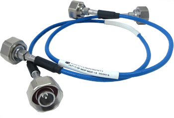 HLP141SF-MDP-MDP-40 Main view for Low PIM SRX 141 Flexible Cable -165 dBc, 4.1/9.5 Mini DIN Male to 4.1/9.5 Mini DIN Male, 40 Inches - HASCO Components