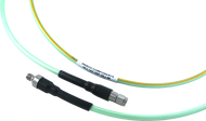 HLL142-35P-35J-48 Main view for 3.5 mm Male to 3.5 mm Female Test Cable using HLL142 Low Loss Flexible Cable, Phase Stable vs. Temperature, 48 Inches - HASCO Components