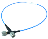 1.0mm Male to 1.0mm Male Low Loss .047 Flexible Cable, 12 Inches (19270-19270-06-12.00C)