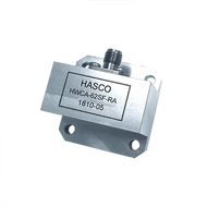 Image_WR-62 to SMA Female Waveguide to Coax Adapter, Right Angle Design, 12 GHz to 18 GHz, UG1665/U Flange (HWCA-62SF-RA)