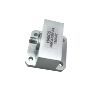 Image_WR-75 to SMA Female Waveguide to Coax Adapter, Right Angle Design, 10 GHz to 15 GHz, WR75F Flange (HWCA-75SF-RA)
