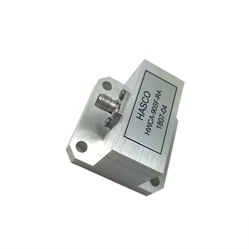 Image - WR-90 to SMA Female Waveguide to Coax Adapter, Right Angle Design, 8.20 GHz to 12.4 GHz, UG135\U Flange (HWCA-90SF-RA)