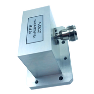 Image WR-187 to Type N Female Waveguide to Coax Adapter, Right Angle Design, 3.95 GHz to 5.85 GHz, UG1480/U Flange (HWCA-187NF-RA)