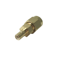 SMBJ-SMAP-MM - RF Adapter between series SMB Jack  to SMA Plug 6 GHz HASCO Components Precision RF Adapter Image