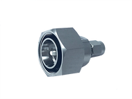 Image - 4.3-10 Male to SMA Male Low PIM RF Adapter - 165 dBc - 4310P-SMAP-SLP
