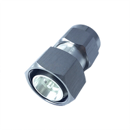 Image - 4.3-10 Male to N Male Low PIM RF Adapter - 168 dBc - 4310P-NP-SLP