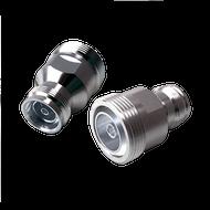 Image - 4.3-10 Female to 7/16 DIN Female Low PIM RF Adapter - 168 dBc - 4310J-716J-SLP