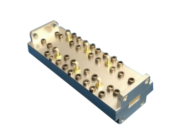 Image WR-34 Ka-Band Band Stop Filter 25-28.4 GHz and 28.6-32 GHz BSF-W-00017 HASCO Components RF