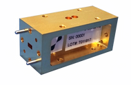 Image - WR-15 V-Band Band Pass Filter, 62 dB Rejection from 59.75 - 60.25 GHz - HASCO Components