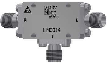 Main Image - HM3014 - Multi-Octave Microwave Mixer SMA Female, 2 GHz to 18 GHz with IF Range of DC to 1.5 GHz, LO Power +7dBm to +12dBm