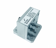 Main Image - ADP-W-12500-5000-75-SF-WR-75 to SMA Female Waveguide to Coax Adapter, Right Angle Design, 10 GHz to 15 GHz, UBR120 Flange