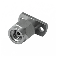 Main Image - 1.0mm Male 2-Hole .400 Flange Connector - 110 Ghz, 2413-01SF