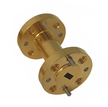 Main Image - WR-15 Millimeter Waveguide Section, 1 Inch Length, V Band, 50 GHz to 75 GHz