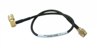 Main Image - RG174 Flexible Cable with SMA Male Straight to SMA Male Right Angle Connectors