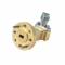 Second Image - WR-15 to 1.85mm Female Waveguide to Coax Adapter, Right Angle Design, 50 GHz to 67 GHz, UG385/U Flange