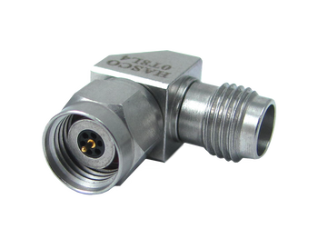 Main Image - 2.4mm Female to 2.4mm Male Right Angle Adapter - DC to 50 GHz