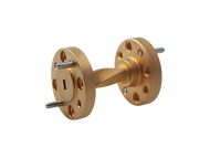 Image - WR-15 Millimeter Waveguide 90 Degree Twist, 1-Inch Section, 50 GHz to 75 GHz, V-Band