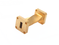 Image - WR-34 Millimeter Waveguide 90 Degree Twist, 2-Inch Section, 22 GHz to 33 GHz