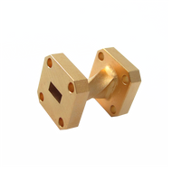 Image - WR-34 Millimeter Waveguide 90 Degree Twist, 1-Inch Section, 22 GHz to 33 GHz