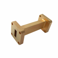 Image - WR-28 Millimeter Waveguide Straight Section, 2-Inch, 26.5 GHz to 40 GHz