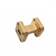 Image - WR-42 Millimeter Waveguide Straight Section, 1-Inch Section, 18 GHz to 26.5 GHz