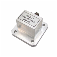 WR-75 to SMA Female, Waveguide to Coax Right Angle Adapter, 10 GHz to 15 GHz